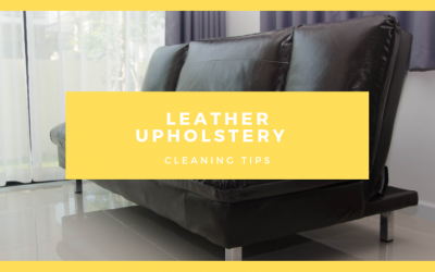 Leather Upholstery Cleaning Tips